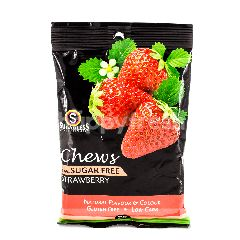 SUGARLESS CONFECTIONERY Chews Strawberry