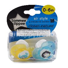 Tommee Tippee Orthodontic Soother (2 Pieces)