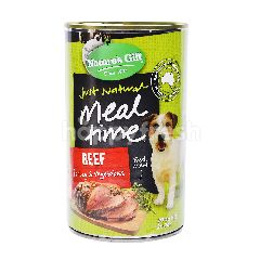 Nature's Gift Beef, Barley & Vegetable Dog Food 700g
