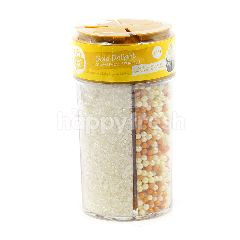 Creative Kitchen Gold Delight Four Compartment Sprinkles