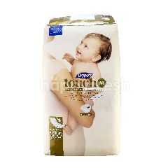 Drypers Touch M Size Diapers