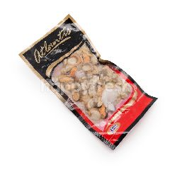 Atlantis IQF Mix Seafood (Prawn Meat, Bay Scallop, Boiled Hotate, Mussel Meat & Baby Cuttlefish)