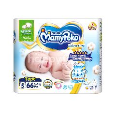 Mamypoko Extra Dry Tape Diapers Small Size (66 Pieces)