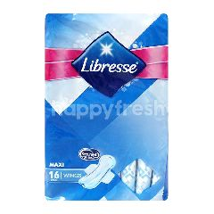 LIBRESSE Maxi Wings Pads 16s