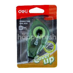 Deli Correction Tape 8110 Warna Hijau