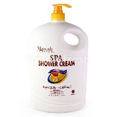 MAREAH FOREVER Spa Shower Cream Royal Jelly With Ginseng 2L