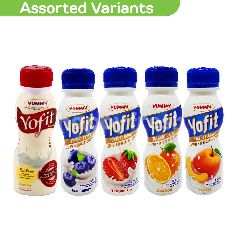 Yummy Yofit Probiotic Drinks 180g Paket (Assorted Variant)