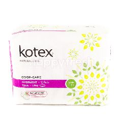 Kotex Odour-Care Overnight - 32cm - Wing - 12 Pads
