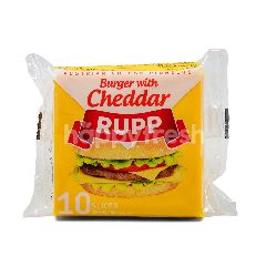 Rupp Cheddar Cheese Slices (10 Slices)