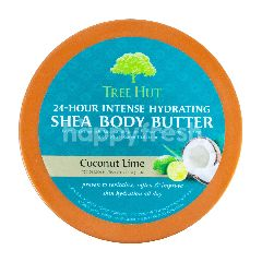 Tree Hut Shea Body Butter 24-Hour Intense Hydrating Coconut Lime