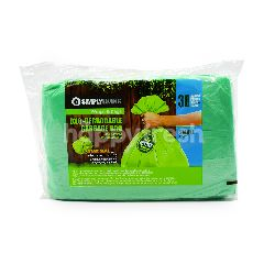 Simply Living Oxo-Degradable Garbage Bag Flat Pack (S30)