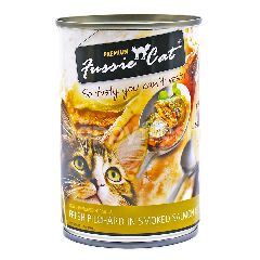 FUSSIE CAT Fresh Pilchard In Smoked Salmon Jelly - Premium Cat Food