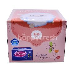 Intimate Unscented Long Pantyliners (60 Pieces)