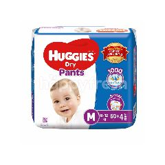 Huggies Dry Pants Super Value Pack Diapers M60+4s