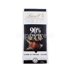 Lindt Excellence 90% Cocoa Chocolate