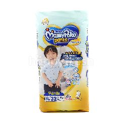 Mamypoko Extra Dry Pants Baby Diapers Extra Large Size (32 Pieces)