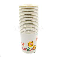 Muster Traders 6 Inch Printed Paper Cups 20 Pieces