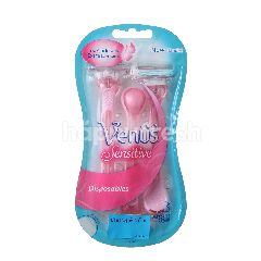 Gillette Venus Sensitive Razor (3 Blades)