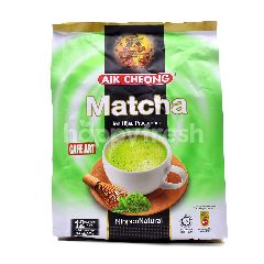Aik Cheong Cafe Art Matcha Green Tea Premix (12 Sachets)