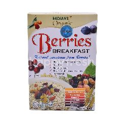 Radiant Whole Food Organic Berries Breakfast Cereal