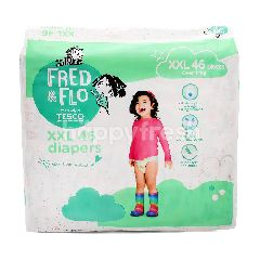 Fred & Flo XXL Diapers (46 Pieces)