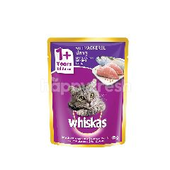 Whiskas Pouch Cat Wet Food Adult Fresh Fish Mackerel 85G Cat Food