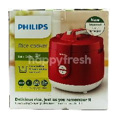 Philips Penanak Nasi Daily Collection HD3129 Merah