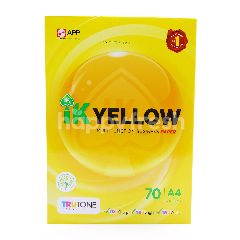 IK YELLOW A4 70 Gsm Multifunction Business Paper (450 Sheets)