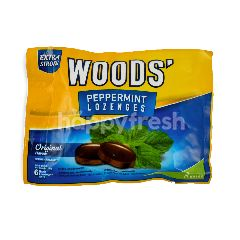 Woods' Extra Strong Peppermint Lozenges Original (6 Pieces)