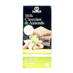 SUGARLESS CONFECTIONERY Milk Chocolate & Almonds With Stevia