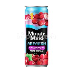Minute Maid Refresh Red Grape Fruit Drink 300ml