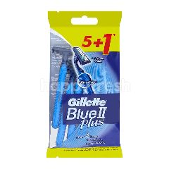 Gillette Blue II Plus (6 Pieces)
