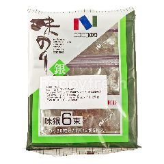 Nico-Nico Aji Gin Nori Seasoned Seaweed (6 Packs)