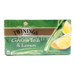 Twinings Teh Hijau dan Lemon