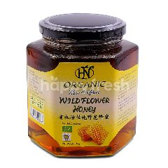 Hn Health & Nature Organic Raw & Pure Wild Flower Honey