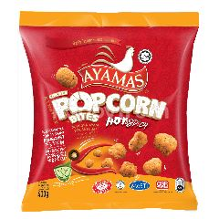 Ayamas Hot & Spicy Popcorn Bites