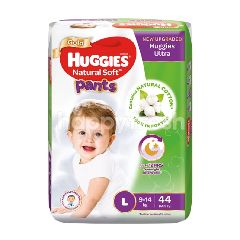 Huggies Pants Natural Soft Super Jumbo Diapers L44