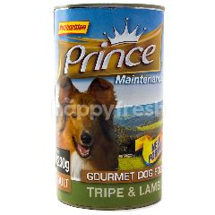 PRINCE Gourmet Dog Food Tripe & Lamb (1.23Kg)