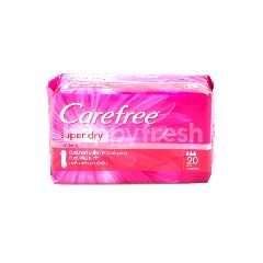 Carefree Unscented Super Dry Panty Liners (20 Liners)
