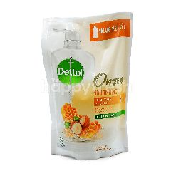 Dettol Onzen Honey & Shea Butter Antibacterial Body Wash Refill