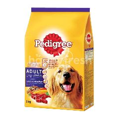 Pedigree Dog Dry Food Adult Lamb & Vegetable Flavour 3KG Dog Food