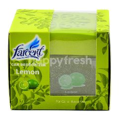Farcent Car Deodorizer Lemon Version