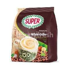 Super 3 In 1 Charcoal Roasted Instant White Coffee Hazelnut (15sx36g)