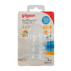 Pigeon SofTouch Dot Perstaltik Plus S