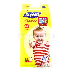 Drypers Classic Diapers XXL42