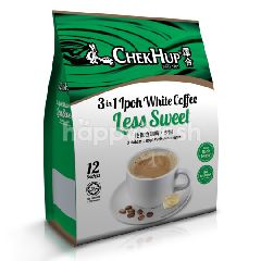 Chek Hup 3 In 1 Ipoh White Coffee Less Sweet (35gm x 12 Sachets)