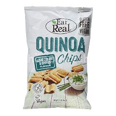 Eat Real Quinoa Chips Sour Cream & Chive Flavour